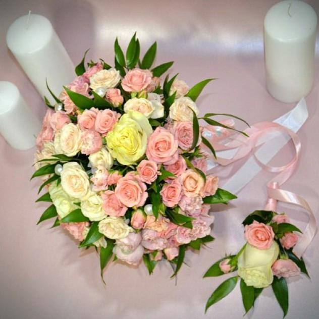 Свадебный букет заказать в белгороде 14